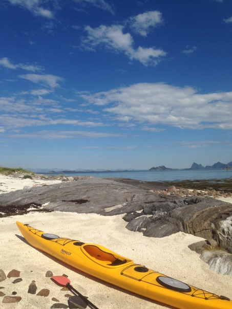 It is wonderful to paddle in Steigen